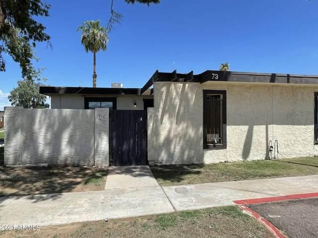 720 S Dobson Road #73, Mesa, AZ 85202 (MLS #6265203) :: The Property Partners at eXp Realty