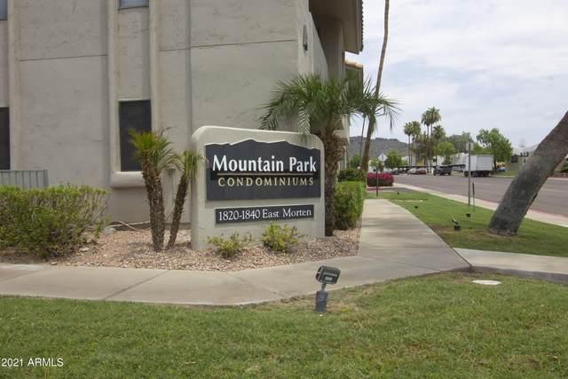 1840 E Morten Avenue #136, Phoenix, AZ 85020 (MLS #6265852) :: Executive Realty Advisors