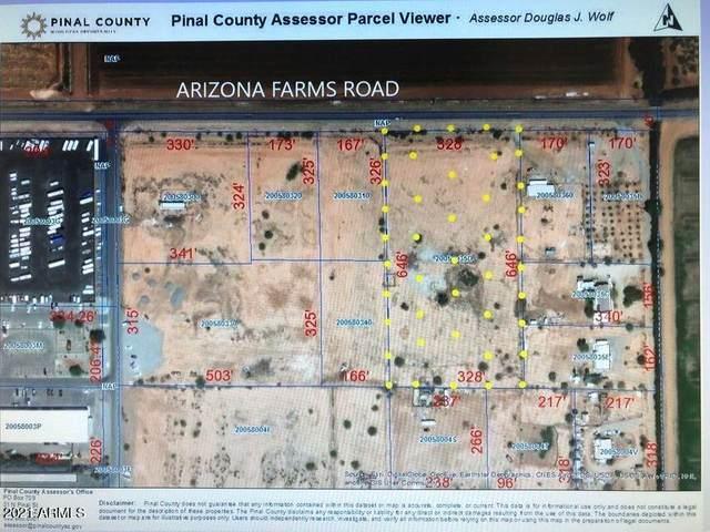 0 E Arizona Farms Road, Florence, AZ 85132 (MLS #6266495) :: Yost Realty Group at RE/MAX Casa Grande