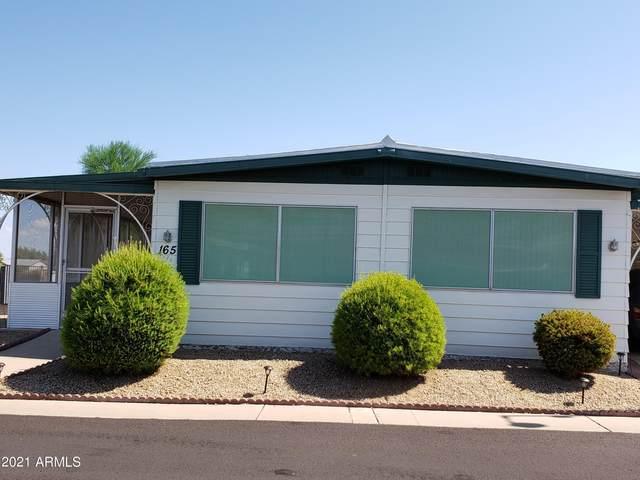 10201 N 99TH Avenue #165, Peoria, AZ 85345 (MLS #6266665) :: Dave Fernandez Team | HomeSmart
