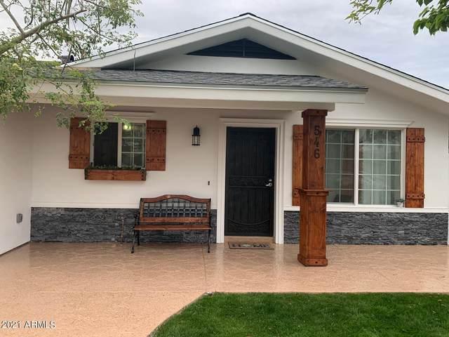 546 W Del Campo Avenue, Mesa, AZ 85210 (MLS #6268231) :: Devor Real Estate Associates