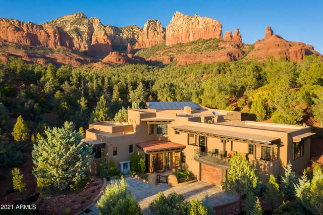 926 W Park Ridge Lot 14, Sedona, AZ 86336 (MLS #6268719) :: Openshaw Real Estate Group in partnership with The Jesse Herfel Real Estate Group