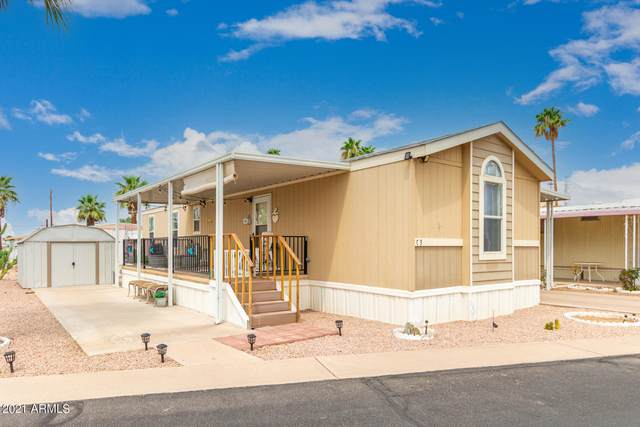 44 S Hawes Road C3, Mesa, AZ 85208 (MLS #6269183) :: Openshaw Real Estate Group in partnership with The Jesse Herfel Real Estate Group
