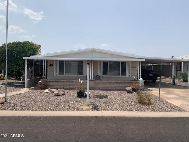 3160 E Main Street #49, Mesa, AZ 85213 (MLS #6269483) :: ASAP Realty