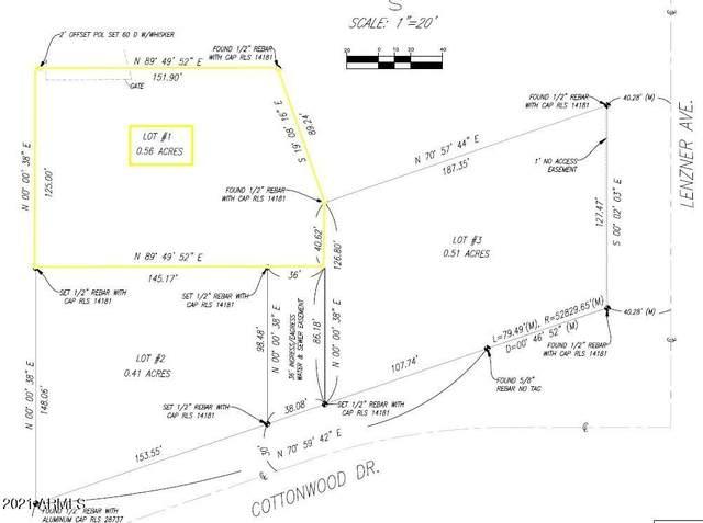 0000 Cottonwood, Lot 1, Sierra Vista, AZ 85635 (MLS #6269884) :: West Desert Group | HomeSmart