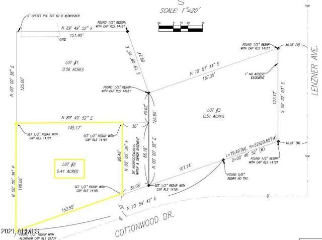 0000 Cottonwood, Lot 2, Sierra Vista, AZ 85635 (MLS #6269890) :: West Desert Group | HomeSmart