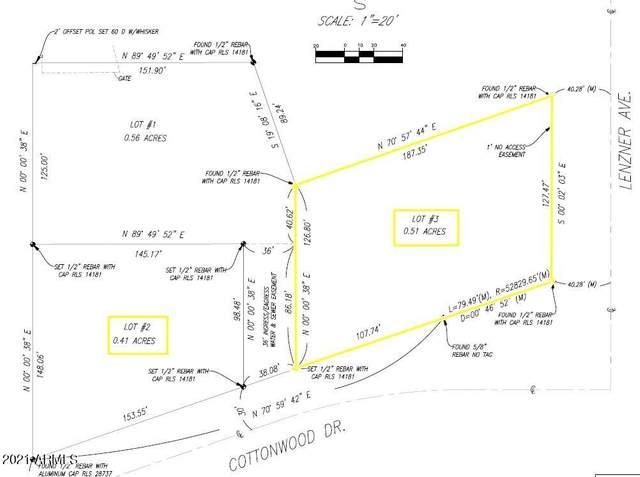 0000 Cottonwood, Lot 3, Sierra Vista, AZ 85635 (MLS #6269893) :: West Desert Group | HomeSmart