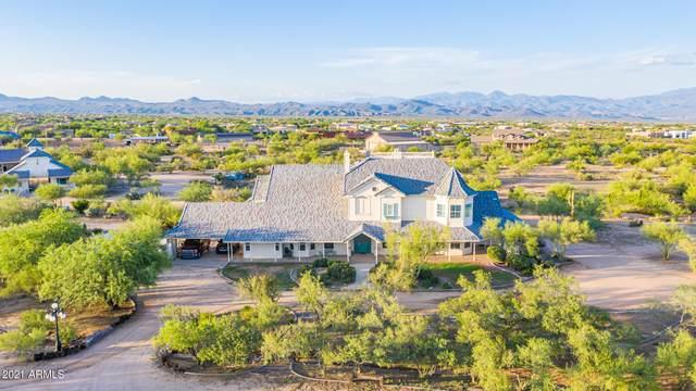 14138 E Peak View Road, Scottsdale, AZ 85262 (MLS #6270556) :: Service First Realty