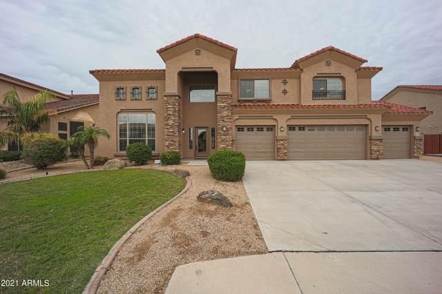 9755 W Keyser Drive, Peoria, AZ 85383 (MLS #6271068) :: The Carin Nguyen Team