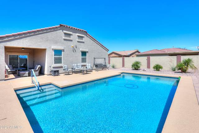 16969 N Rosa Drive, Maricopa, AZ 85138 (MLS #6272248) :: The Laughton Team