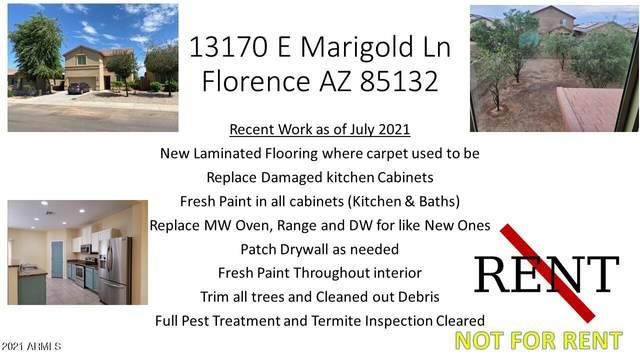 13170 E Marigold Lane, Florence, AZ 85132 (MLS #6272860) :: Keller Williams Realty Phoenix