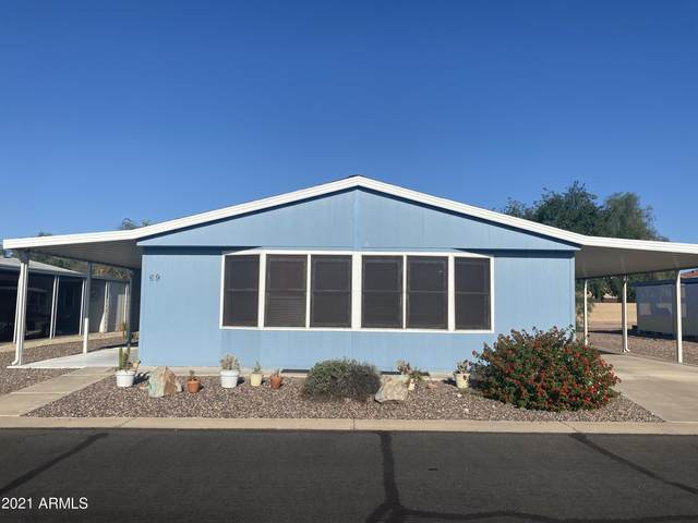 2400 E Baseline Avenue #69, Apache Junction, AZ 85119 (MLS #6273527) :: Power Realty Group Model Home Center