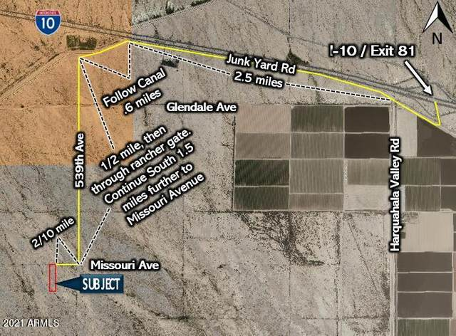 54001 W Missouri Avenue, Tonopah, AZ 85354 (MLS #6273967) :: The Ellens Team