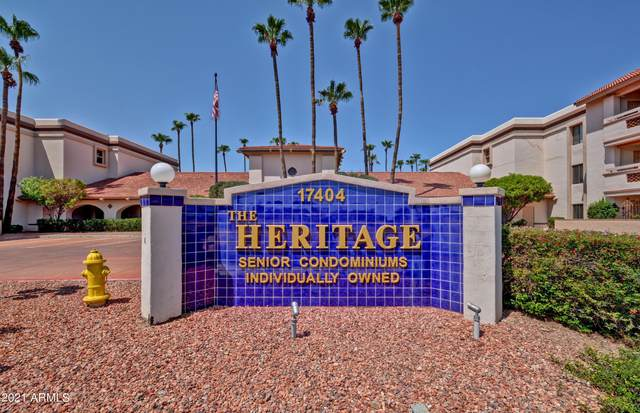 17404 N 99TH Avenue #329, Sun City, AZ 85373 (MLS #6274721) :: Maison DeBlanc Real Estate