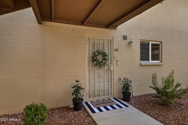 814 N 82ND Street G104, Scottsdale, AZ 85257 (MLS #6274724) :: Yost Realty Group at RE/MAX Casa Grande