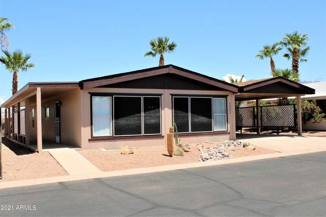 3500 S Tomahawk Road #122, Apache Junction, AZ 85119 (MLS #6274930) :: Justin Brown | Venture Real Estate and Investment LLC