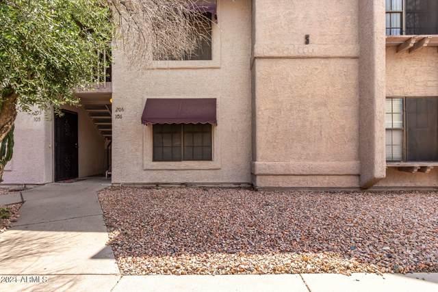 1077 W 1ST Street #206, Tempe, AZ 85281 (MLS #6279358) :: Executive Realty Advisors