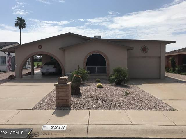 2213 N Lema Drive, Mesa, AZ 85215 (MLS #6280063) :: The Riddle Group