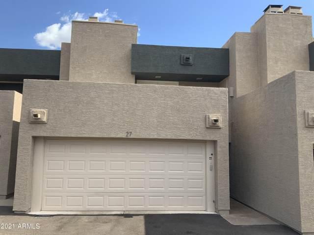 3030 N Hayden Road #27, Scottsdale, AZ 85251 (MLS #6281074) :: The Dobbins Team