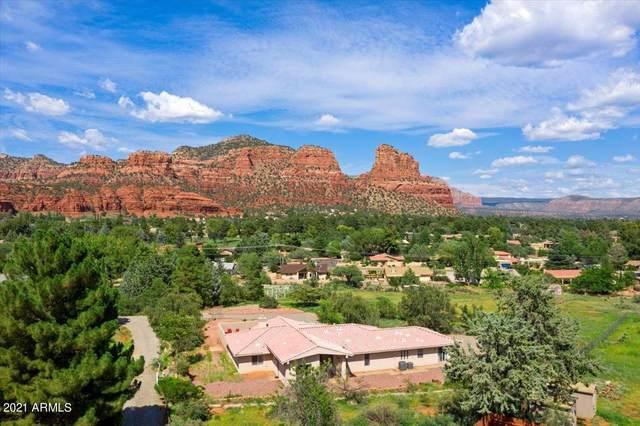 9 N Montazona Trail, Sedona, AZ 86351 (MLS #6282927) :: Elite Home Advisors