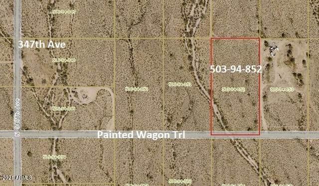 34498 W Painted Wagon Trl Road, Wickenburg, AZ 85390 (MLS #6284956) :: The Dobbins Team