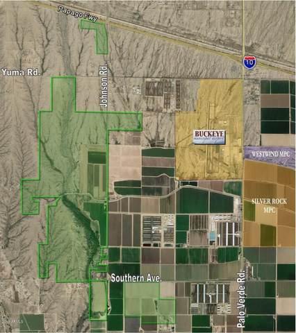 0 S Johnson Road, Buckeye, AZ 85326 (MLS #6285427) :: The Daniel Montez Real Estate Group