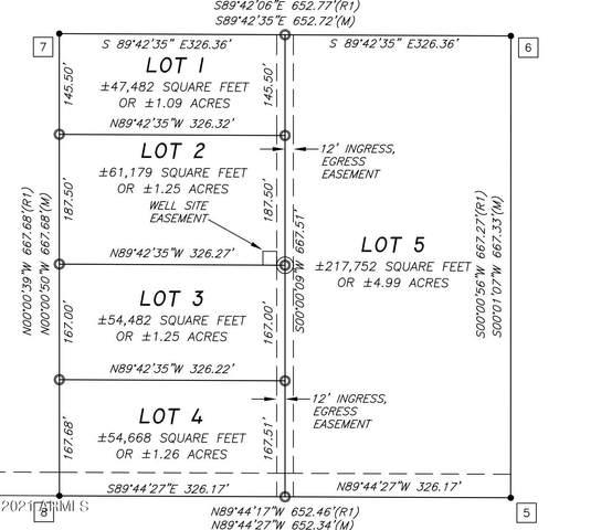 335 South Of Highland Lot, Tonopah, AZ 85354 (MLS #6286044) :: The Daniel Montez Real Estate Group