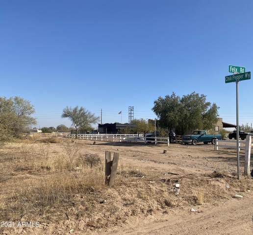 0 N Felix Road, San Tan Valley, AZ 85143 (MLS #6286377) :: Fred Delgado Real Estate Group