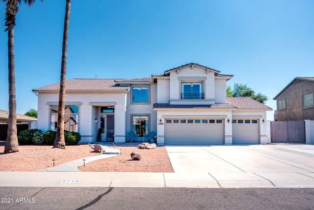 2745 E Carla Vista Drive, Gilbert, AZ 85295 (MLS #6286553) :: The Riddle Group