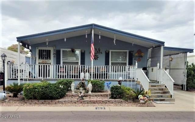11411 N 91ST Avenue #162, Peoria, AZ 85345 (MLS #6287357) :: Elite Home Advisors