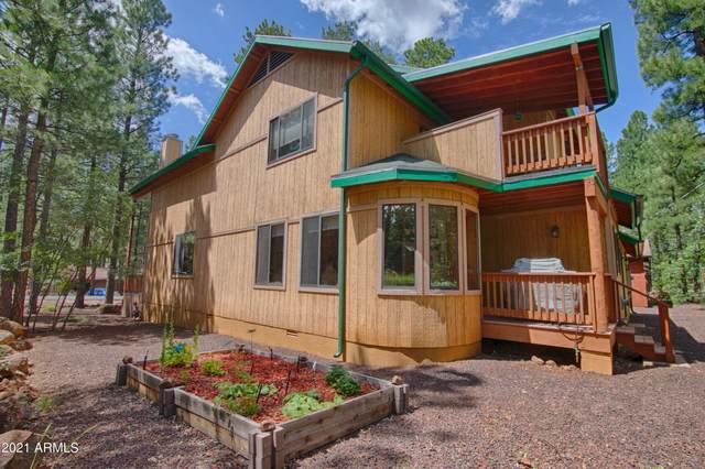 5810 Mule Deer Way, Pinetop, AZ 85935 (MLS #6288314) :: Elite Home Advisors
