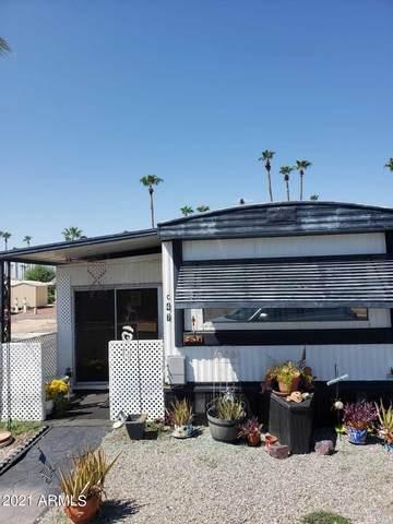 7300 N 51ST Avenue C47, Glendale, AZ 85301 (MLS #6289426) :: Service First Realty