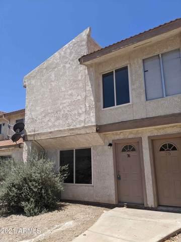 3840 N 43RD Avenue #76, Phoenix, AZ 85031 (MLS #6290345) :: Yost Realty Group at RE/MAX Casa Grande