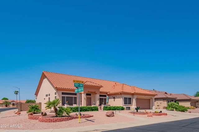 21602 N 157TH Drive, Sun City West, AZ 85375 (MLS #6290396) :: Yost Realty Group at RE/MAX Casa Grande