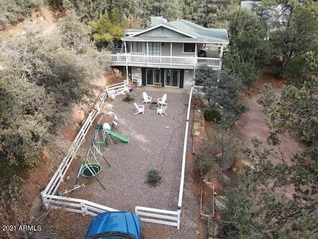 9313 W Coyote Drive, Pine, AZ 85544 (MLS #6292009) :: Elite Home Advisors
