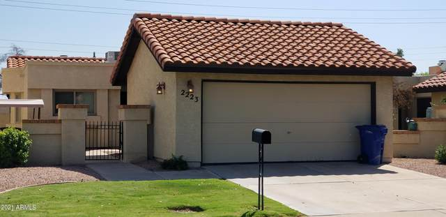 2223 E Flossmoor Avenue, Mesa, AZ 85204 (MLS #6292401) :: Yost Realty Group at RE/MAX Casa Grande