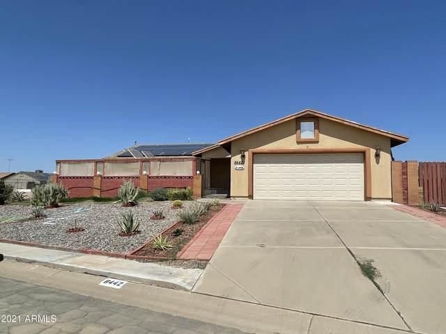 8442 W Troy Drive, Arizona City, AZ 85123 (MLS #6292675) :: Executive Realty Advisors