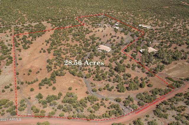 9665 N Stagecoach Drive, Williams, AZ 86046 (MLS #6293064) :: Elite Home Advisors