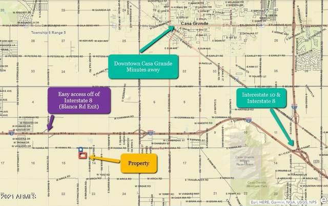 0 Thornton & Hanna, Casa Grande, AZ 85193 (MLS #6293249) :: Executive Realty Advisors