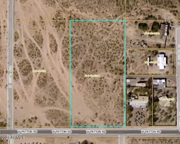25416 Aprx W Patton Road, Wittmann, AZ 85361 (MLS #6293265) :: Yost Realty Group at RE/MAX Casa Grande