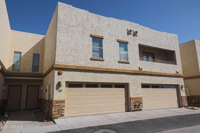 15818 N 25TH Street #109, Phoenix, AZ 85032 (MLS #6293309) :: Executive Realty Advisors
