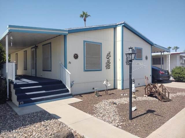11411 N 91st Avenue #70, Peoria, AZ 85345 (MLS #6293556) :: Elite Home Advisors