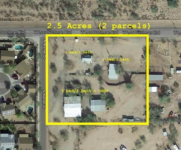 2381 N Warner Drive, Apache Junction, AZ 85120 (MLS #6293601) :: Elite Home Advisors