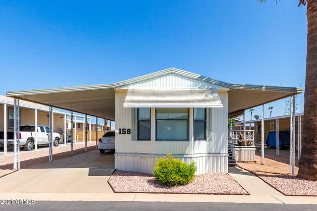 9333 E University Drive #158, Mesa, AZ 85207 (MLS #6294439) :: Elite Home Advisors