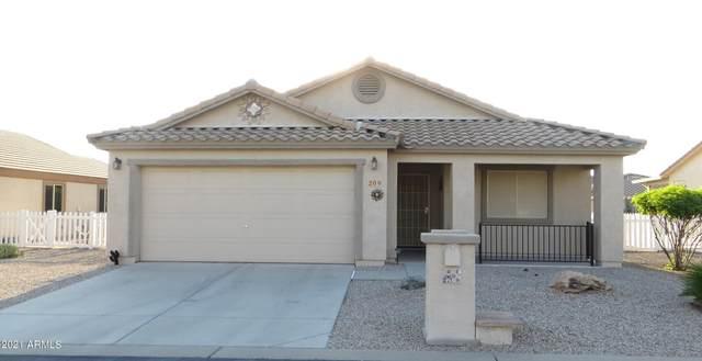 2101 S Meridian Road #209, Apache Junction, AZ 85120 (MLS #6295565) :: Arizona Home Group