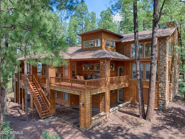 448 E Iris Lane, Pinetop, AZ 85935 (MLS #6295631) :: Klaus Team Real Estate Solutions