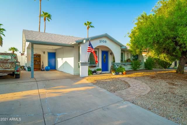 2105 W Obispo Avenue, Mesa, AZ 85202 (MLS #6295876) :: Executive Realty Advisors