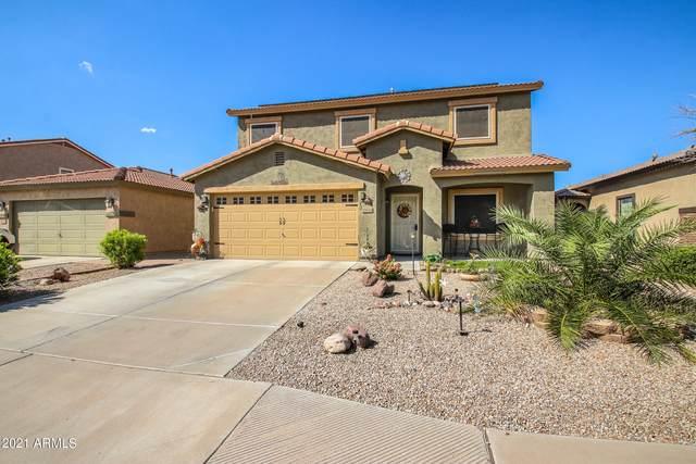 45024 W Miramar Road, Maricopa, AZ 85139 (MLS #6296027) :: The Garcia Group
