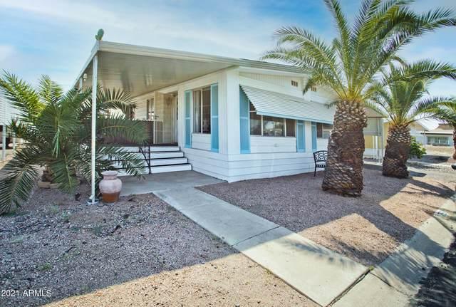 8780 E Mckellips Road #255, Scottsdale, AZ 85257 (MLS #6296035) :: Nate Martinez Team