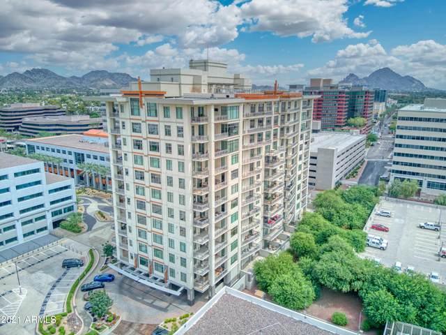 2211 E Camelback Road #403, Phoenix, AZ 85016 (MLS #6296175) :: Devor Real Estate Associates